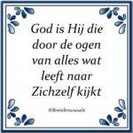 Wie is God